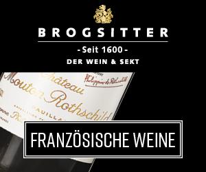 Brogsitter seit 1600 Der Wein & Sekt - französische Weine