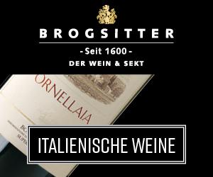 Brogsitter seit 1600 Der Wein & Sekt - italienische Weine
