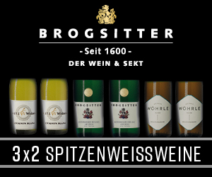 Brogsitter seit 1600 Der Wein & Sekt - 3x2 Spitzenweissweine