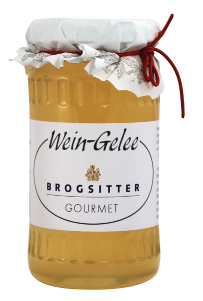 Brogsitter Weißes Wein-Gelee nach eigenem Hausrezept