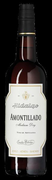 Emilio Hidalgo Amontillado Medium Dry Sherry 17°