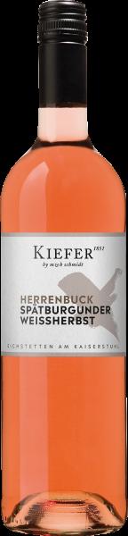 Friedrich Kiefer Spätburgunder Weissherbst Kabinett mild