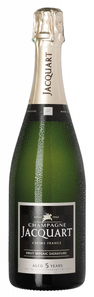 Champagne Jacquart Brut mosaique Signature AGED 5 YEARS