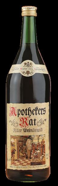 Apothekers Rat - Alter Weinbrand 1l