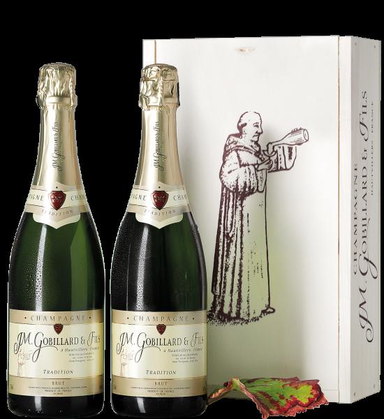 Champagner Gobillard & Fils Champagner-Kiste