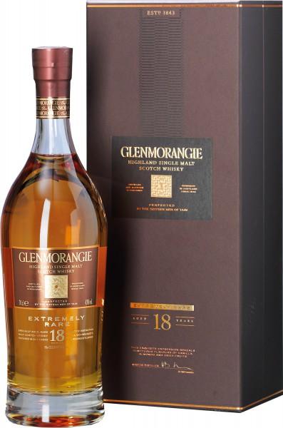Glenmorangie Highland Single Malt Scotch Whisky 18 Years Old · extremely Rare