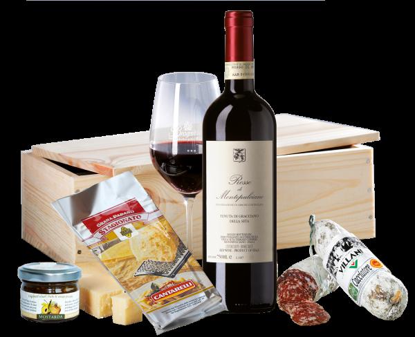 Rosso di Montepulciano & ital. Spezialitäten