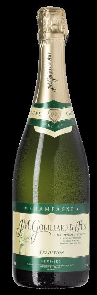 Champagne J.M. Gobillard & Fils TRADITION · Demi-Sec