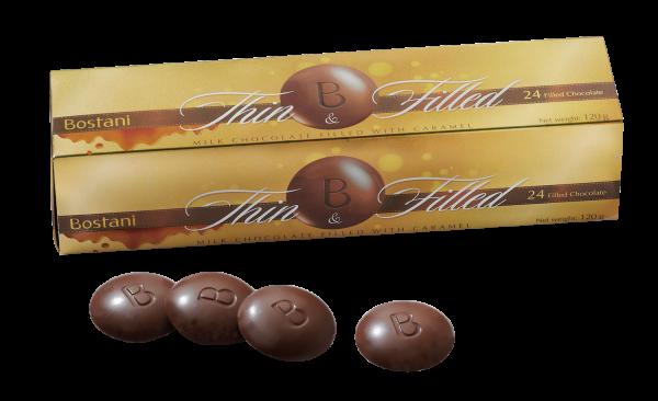 "Bostani Chocolatier ""Thin & Filled"""