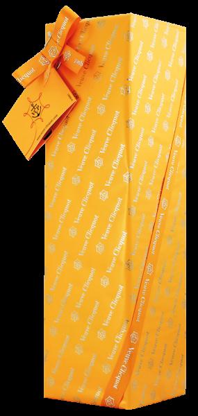 Veuve Clicquot Ponsardin · Brut in Geschenkpapier verpackt