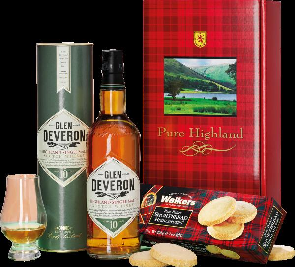 Single Malt Whisky, 10 Jahre & Scottish Shortbread